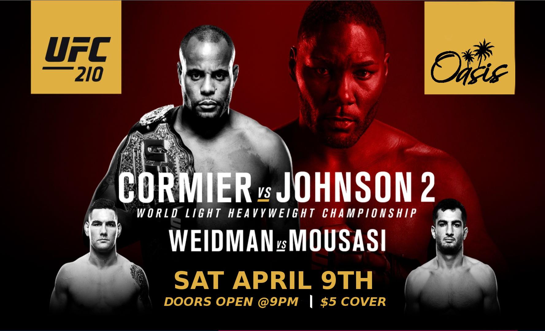 UFC 210 April 9th